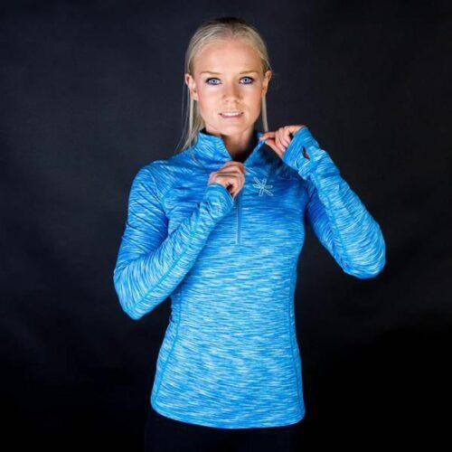 Bara Blue Long Sleeve genser