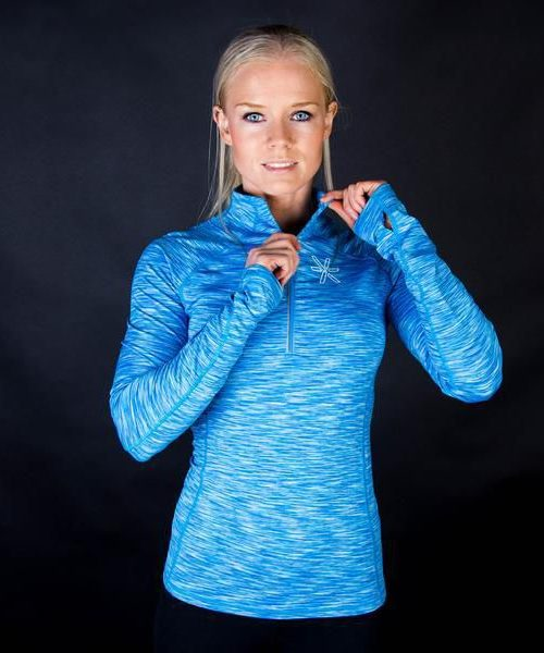 Bara Blue Long Sleeve genser