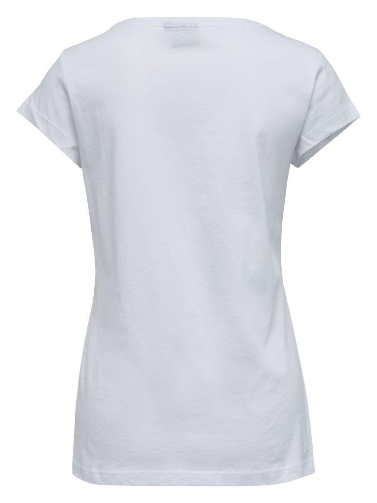 Hummel Kristine t-skjorte dame bak