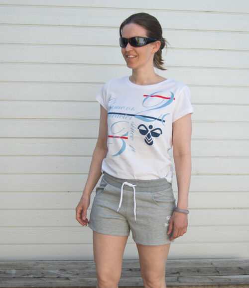 Hummel Kristine t-skjorte