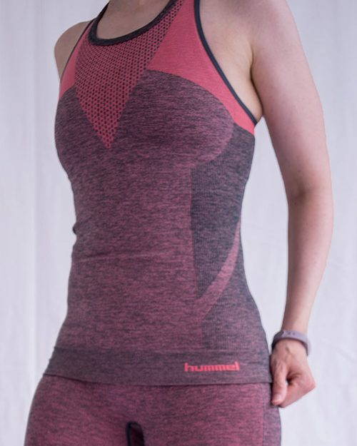 Hummel Fay seamless topp red