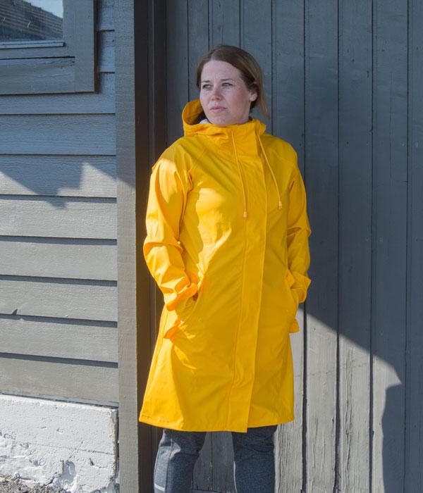 Hummel Joy regnkåpe gul