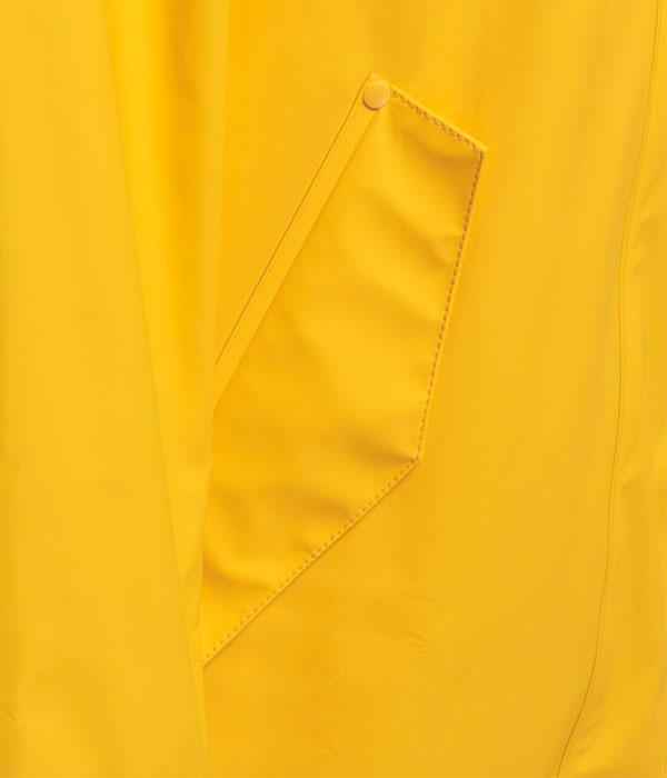 455b8828 Hummel Joy regnkåpe gul - sportyspice.no