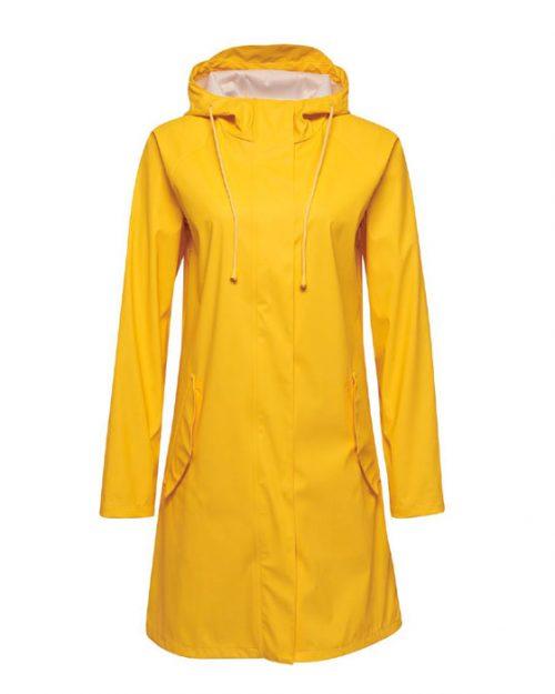 Hummel Joy regnkåpe gul framme