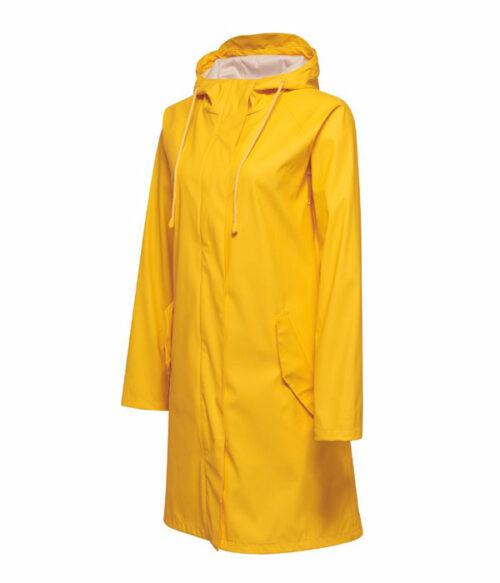 Hummel Joy regnkåpe gul siden
