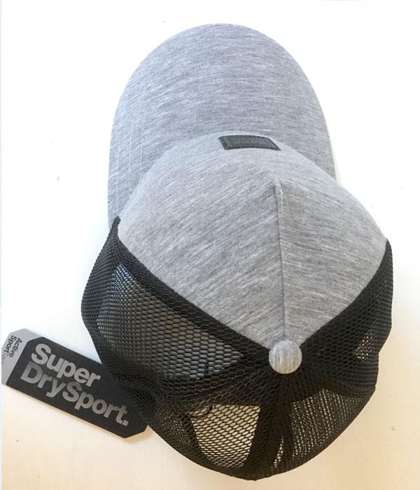 Superdry Lenticular Patch Cap fra oven