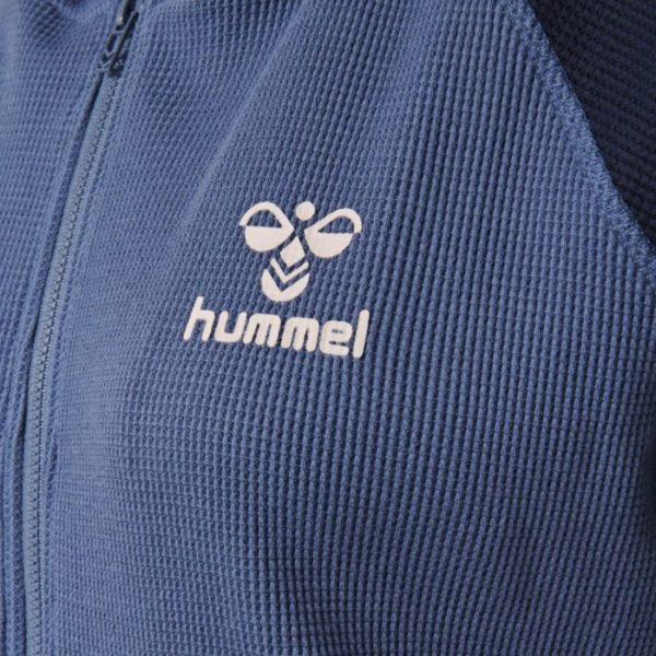 Hummel Solar zip hoodie logo