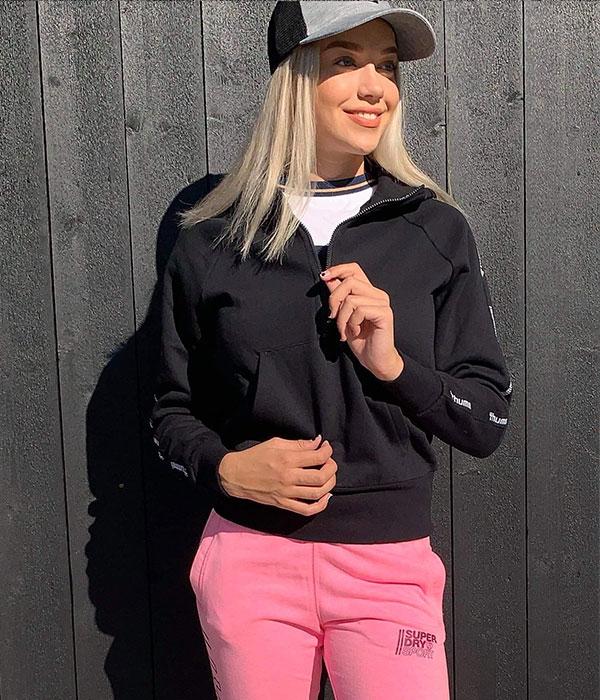 Hummel vela zip hoodie