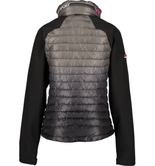 Superdry power lite hybrid jakke
