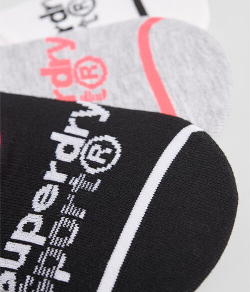 Superdry coolmax invisible sokker closeup