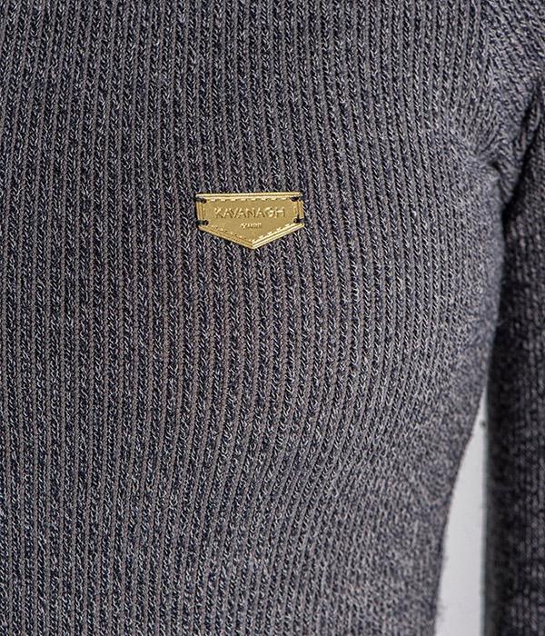Gianni Kavanagh Grey Core kjole close up
