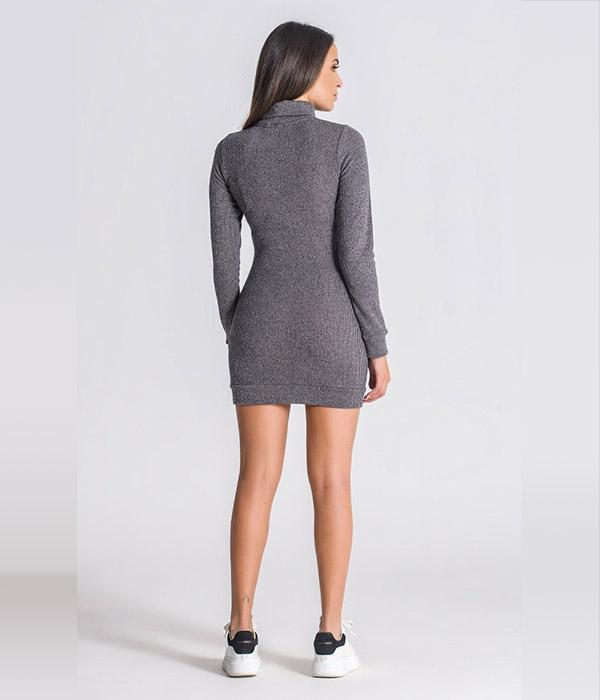 Gianni Kavanagh Grey Core kjole
