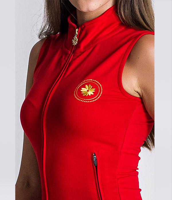 Gianni-Kavanagh nautical winner zip kjole close up